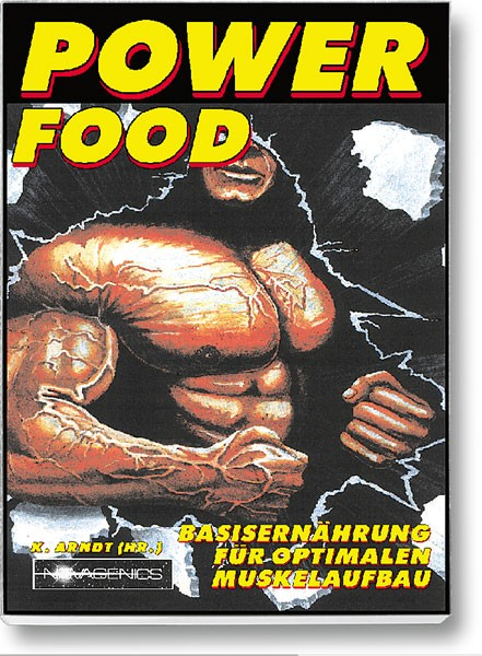 Buchcover – Power Food (Hg. Klaus Arndt)