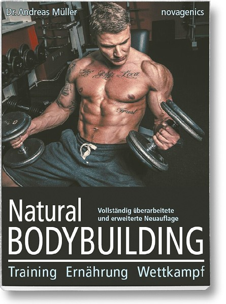 Buchcover – Natural Bodybuilding (Andreas Müller)