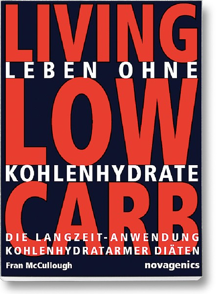 Buchcover – Leben ohne Kohlenhydrate (Fran McCullough)